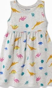 Nwt Baby Dino Dinosaur Dress 3-6 Months Old Navy